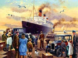 Send Off For the Queen Titanic Jigsaw Puzzle