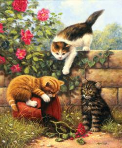 The Potters Kittens Jigsaw Puzzle