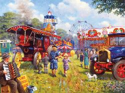 A Good Day for the Fair Nostalgic / Retro Jigsaw Puzzle