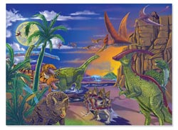 Land of Dinosaurs Dinosaurs Children's Puzzles