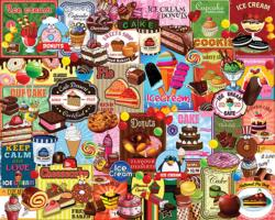 Sweet Treats Collage Jigsaw Puzzle