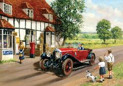 Out in the Country Nostalgic / Retro Jigsaw Puzzle