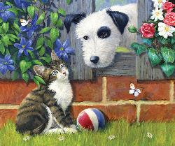 That's My Ball Kittens Jigsaw Puzzle