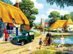 The Village Postman Nostalgic / Retro Jigsaw Puzzle