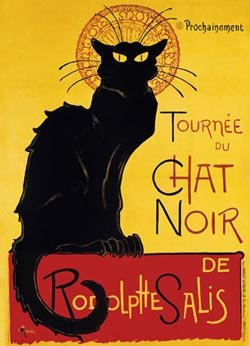 Chat Noir Paris Jigsaw Puzzle