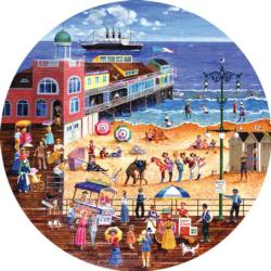 The Boardwalk Seascape / Coastal Living Jigsaw Puzzle