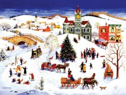 The Community Tree Winter Jigsaw Puzzle