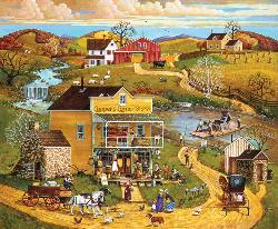 Coopers Corner Store General Store Jigsaw Puzzle