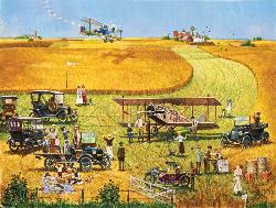 Barnstormers Picnic Jigsaw Puzzle