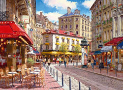 Quaint Shops Travel Jigsaw Puzzle
