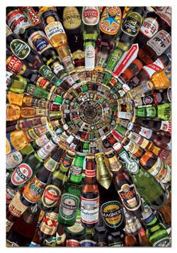 Beer Tunnel Food and Drink Jigsaw Puzzle