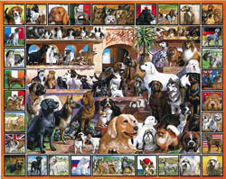 World of Dogs Dogs Jigsaw Puzzle