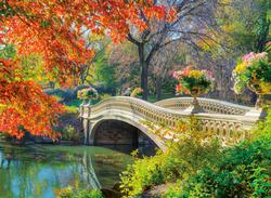 Romantic Bridge Bridges Jigsaw Puzzle