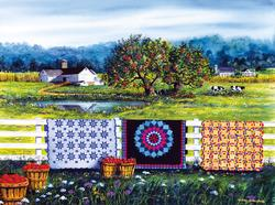 Amish Roadside Market Quilting & Crafts Jigsaw Puzzle