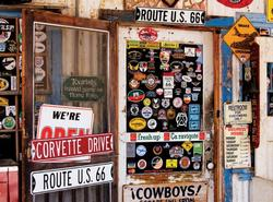 Route 66 Memorabilia (Colorluxe) Photography Jigsaw Puzzle