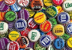 Vintage Soda Caps (Colorluxe) Nostalgic / Retro Jigsaw Puzzle