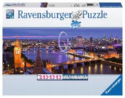 London at Night Photography Panoramic Puzzle