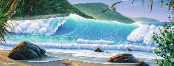 Catch a Wave Seascape / Coastal Living Panoramic