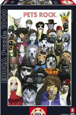Pets Rock Dogs Jigsaw Puzzle