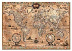 Antique World Map - Scratch and Dent Maps / Geography Jigsaw Puzzle