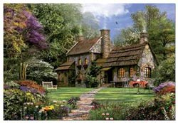 Flint Cottage, 3000 pcs Countryside Jigsaw Puzzle