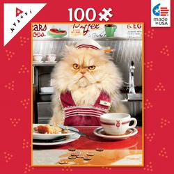 Mini Pet PuzzlesDiner Kitty Cats Children's Puzzles