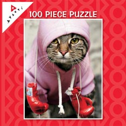 Boxer Cat (Mini) Photography Children's Puzzles