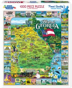 Historic Georgia United States Jigsaw Puzzle