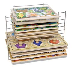 Deluxe Wire Puzzle Rack Accessory