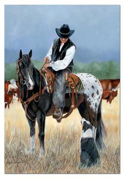 Cowboy Countryside Jigsaw Puzzle