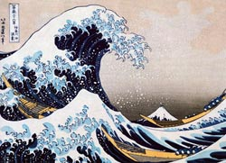 Great Wave of Kanagawa Asian Art Jigsaw Puzzle