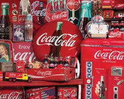 Coca-Cola Memories Nostalgic / Retro Jigsaw Puzzle