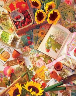 Garden Beginnings Garden Jigsaw Puzzle
