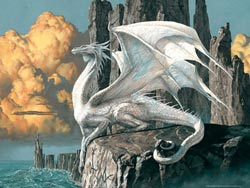 Dragon Seascape / Coastal Living Jigsaw Puzzle