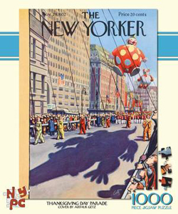 Thanksgiving Parade (The New Yorker) Thanksgiving Jigsaw Puzzle
