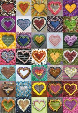 Hearts Hearts Jigsaw Puzzle