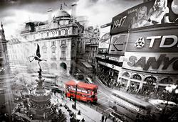Piccadilly Circus Travel Jigsaw Puzzle