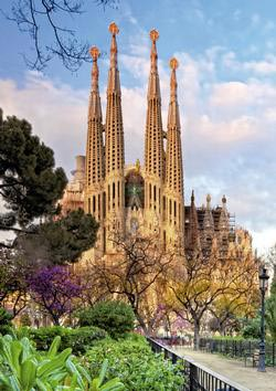 Sagrada Familia Travel Jigsaw Puzzle