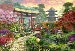 Japan Garden Japan Jigsaw Puzzle