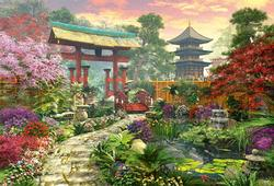 Japan Garden Asia Jigsaw Puzzle