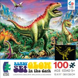 Dinosaurs (Ready, Set, GLOW!) Dinosaurs Children's Puzzles