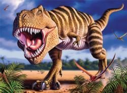 T Rex (Dino Glow) Dinosaurs Jigsaw Puzzle