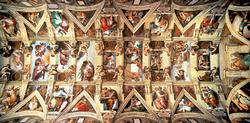 Sistine Chapel, 18,000 pc's Churches Jigsaw Puzzle