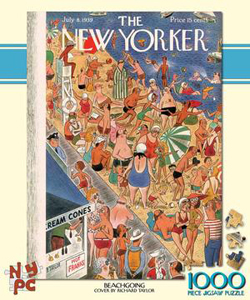 Beachgoing (The New Yorker) New York Jigsaw Puzzle