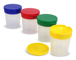 Spill-Proof Paint Cups Toy