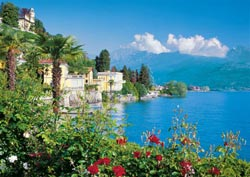 Lake Maggiore, Italy Lakes / Rivers / Streams Jigsaw Puzzle