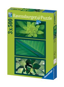 Natural Impressions in Green Nature Jigsaw Puzzle