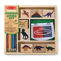 Dinosaur Stamp Set Arts and Crafts