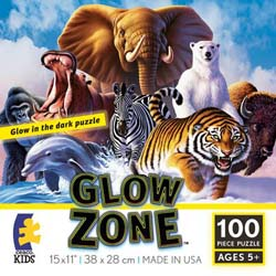 Mammals (Glow Zone) Collage Jigsaw Puzzle
