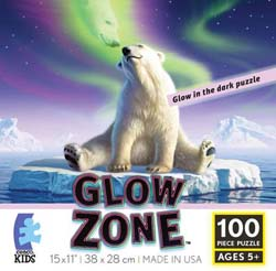Arctic Kiss (Glow Zone) Bears Children's Puzzles